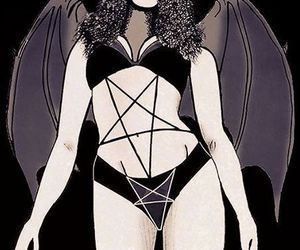 drawing, sexy, and demon girl image
