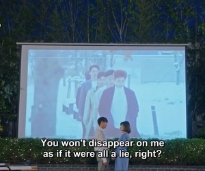 korean, lie, and kdrama image