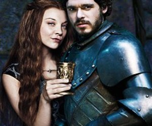 game of thrones and rob stark image