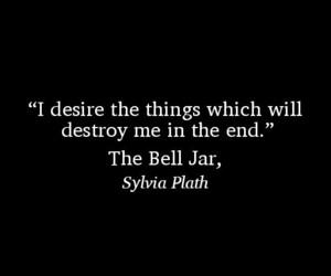 quote, random, and sylvia plath image