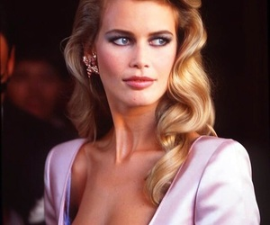 beauty and Claudia Schiffer image