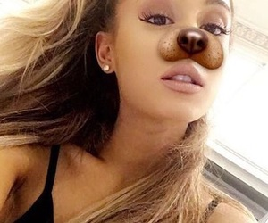 moonlight, ️agb, and ariana snapchat image