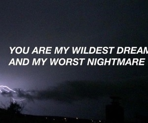 quotes, Dream, and nightmare image