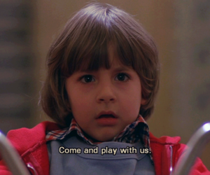 movie, The Shining, and quote image