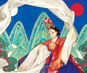 art, korean art, and artists image