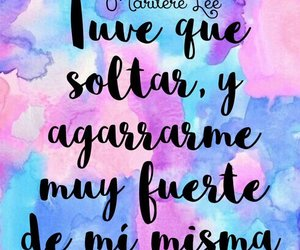 frase, quote, and mujer image
