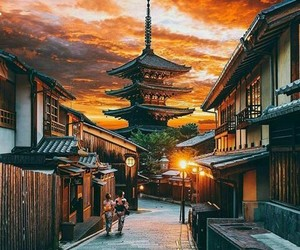 japan, travel, and adventure image