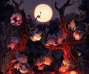 art, digital, and Halloween image