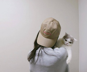 cat, soft, and ulzzang image