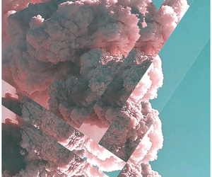 wallpaper, pink, and sky image