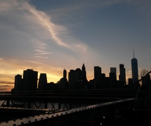 america, brooklyn bridge, and exchange image