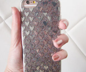 glitter, popular, and iphone 7 case image