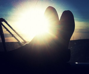shoes, sunshine, and tired image