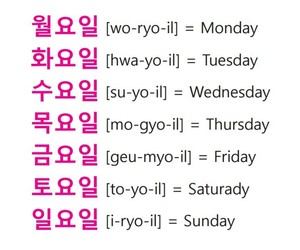 week, days of the week, and ttmik image