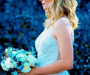 the vampire diaries, caroline forbes, and wedding image