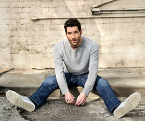 Devil, Hot, and tom ellis image