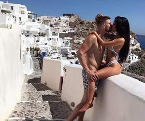 couple, sexy, and summer image