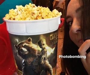 disney, popcorn, and groot image