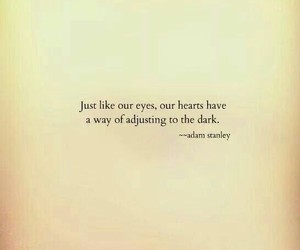 quotes, dark, and hearts image