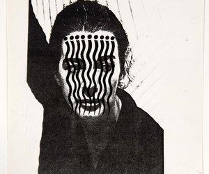 1970, ray johnson, and bridget riley image