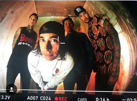band, mike fuentes, and tony perry image