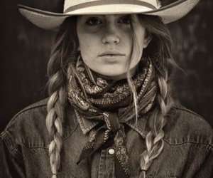 Cowgirl, vintage, and hats image