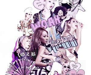 2ne1, CL, and Collage image