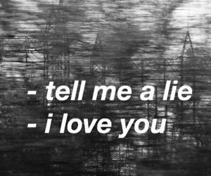 black and white, deep, and sad image