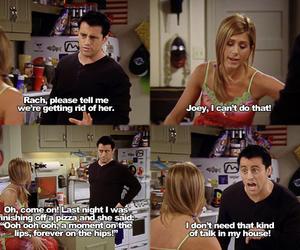 friends, Joey, and rachel image