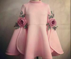 rose, pink, and fashion image