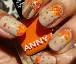 nails and fall image