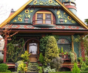 beautiful, house, and old image