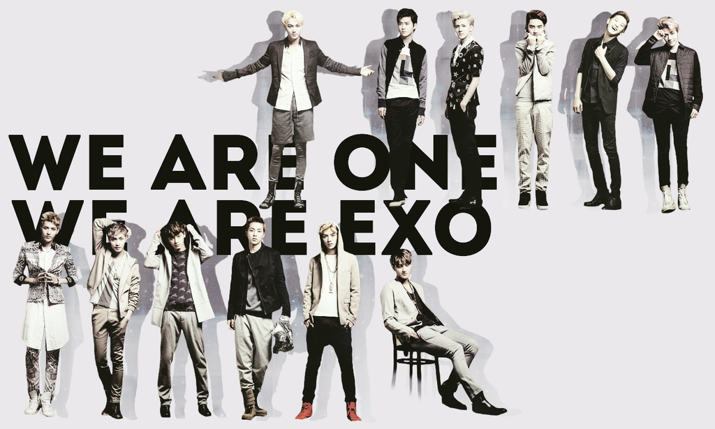 exo and we are one image