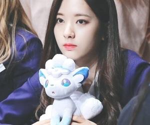 jiyeon, 보나, and wjsn image