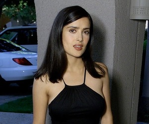 Hot, pretty, and Salma Hayek image