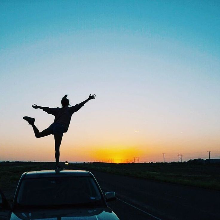 sunset, tumblr, and car image