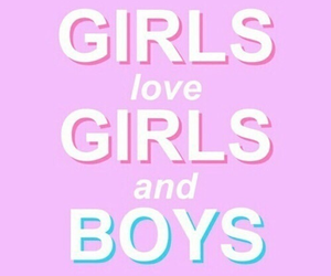 bisexual, boys, and girls image
