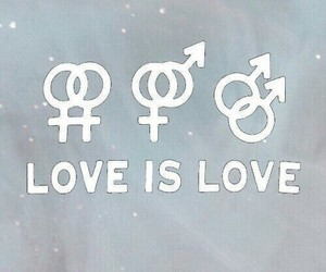 love, lgbt, and bi image