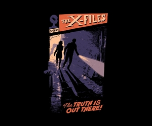 illustration, agent dana scully, and x-files image