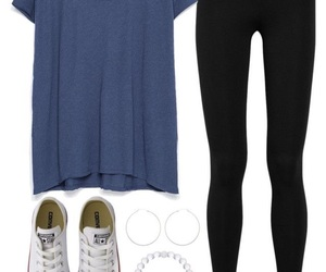 clothes, back to school, and converse image