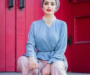 hijab, summer, and ootd image