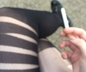 alternative, cigarettes, and clothes image