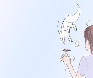 anime, anime girl, and fox image