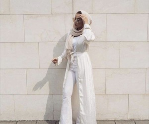 fashion, girl, and muslim image