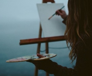 art, painting, and artistic image