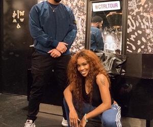 Drake and sza image