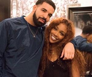 sza and Drake image