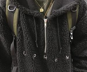 supreme and black image