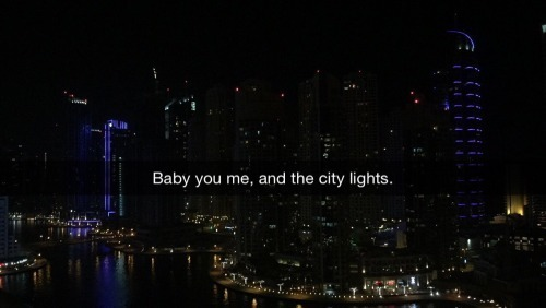 love, city, and lights image