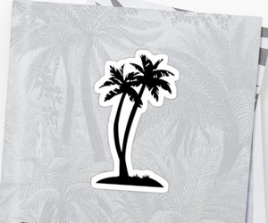 palm, pinterest, and redbubble image